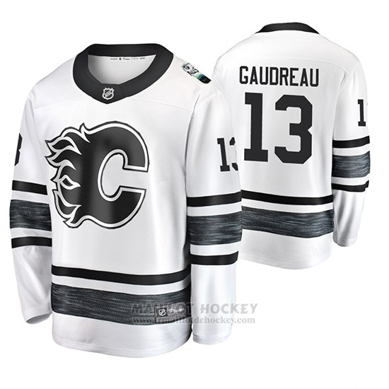 Maillot Calgary Flames Johnny Gaudreau 2019 All Star Blanc