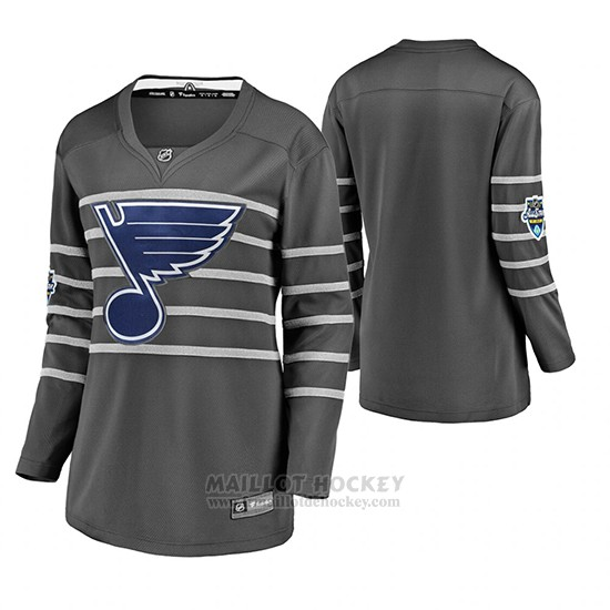 Maillot Femme St. Louis Blues 2020 All Star Authentique Gris