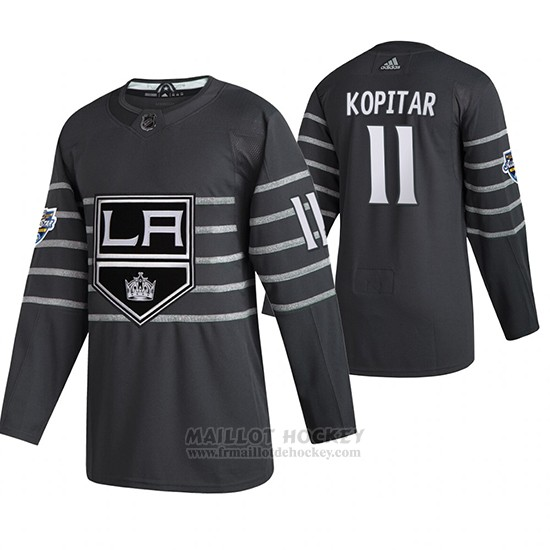 Maillot Los Angeles Kings Anze Kopitar 2020 All Star Authentique Gris