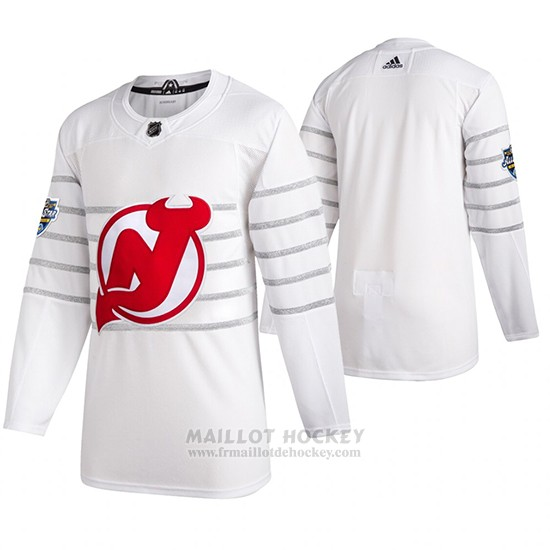 Maillot New Jersey Devils 2020 All Star Authentique Blanc