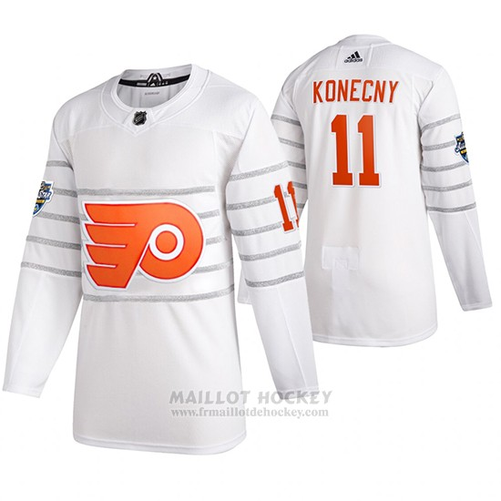 Maillot Philadelphia Flyers Travis Konecny 2020 All Star Authentique Blanc