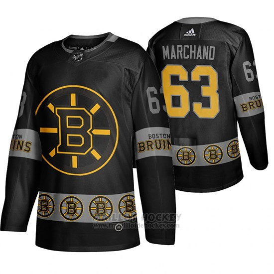 Maillot Boston Bruins Brad Marchand Breakaway Noir