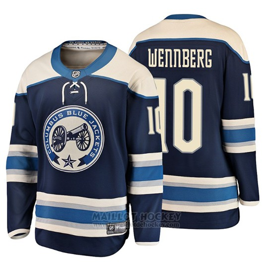 Maillot Enfant Columbus Blue Jackets Alexander Wennberg 2019 Alternato Breakaway Bleu