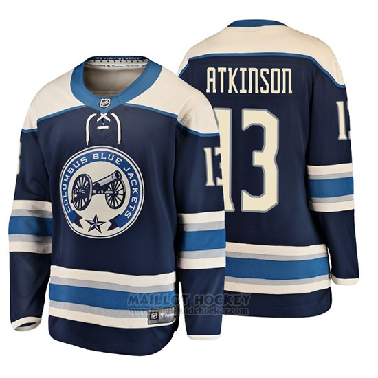 Maillot Enfant Columbus Blue Jackets Cam Atkinson 2019 Alternato Fanatics Breakaway Bleu