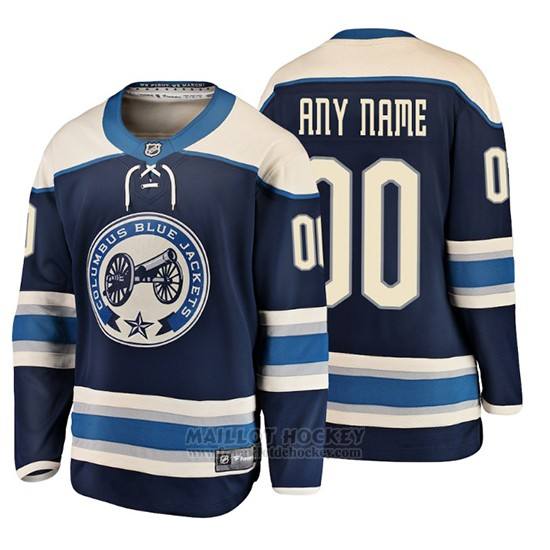 Maillot Enfant Columbus Blue Jackets Custom 2019 Alternato Fanatics Breakaway Bleu