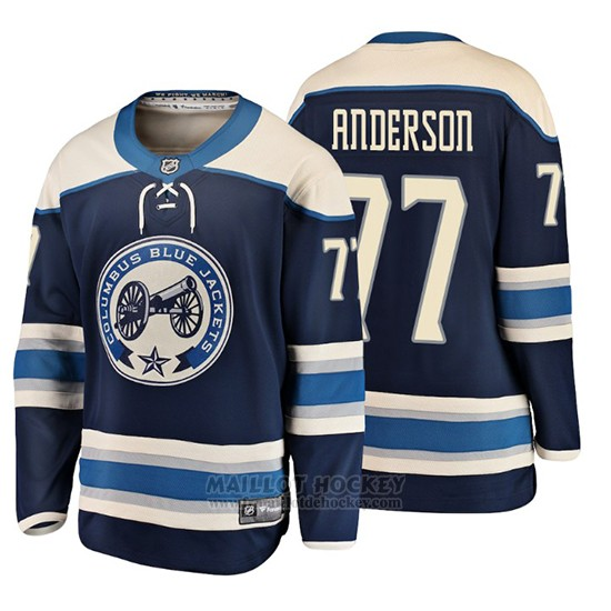 Maillot Enfant Columbus Blue Jackets Josh Anderson 2019 Alternato Fanatics Breakaway Bleu