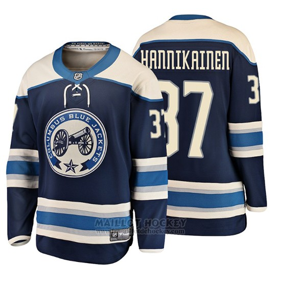 Maillot Enfant Columbus Blue Jackets Markus Hannikainen 2019 Alternato Breakaway Bleu