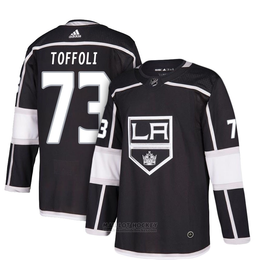 Maillot Femme Los Angeles Kings 73 Toffoli Noir 2018 New Season Home Joueur