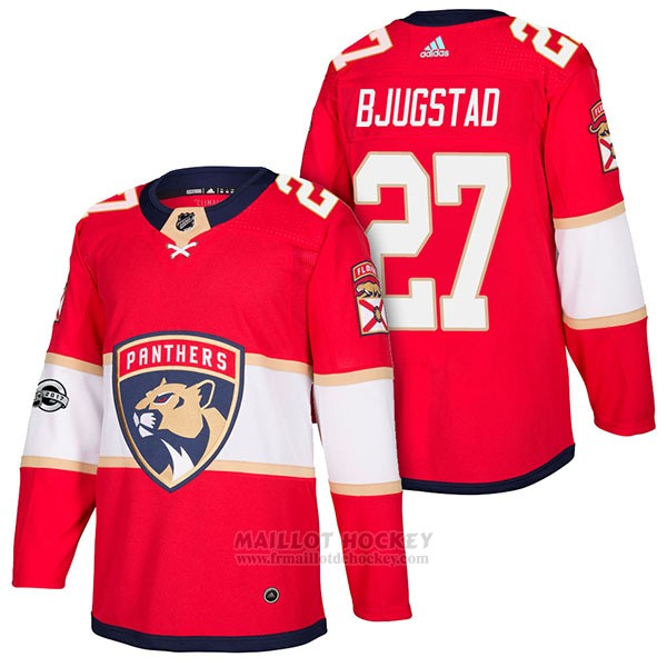 Maillot Authentique Florida Panthers 27 Nick Bjugstad Home 2018 Rouge