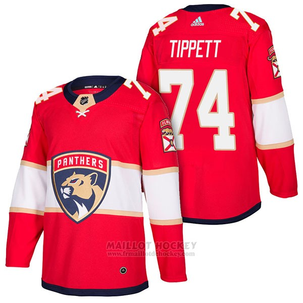 Maillot Authentique Florida Panthers 74 Owen Tippett Home 2018 Rouge