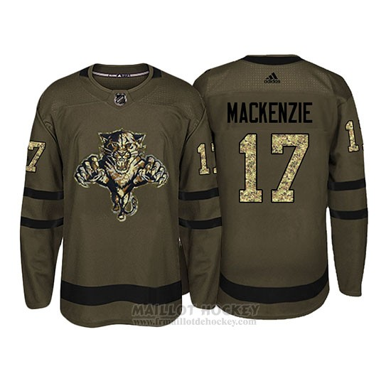 Maillot Florida Panthers Derek Mackenzie Camo Salute To Service