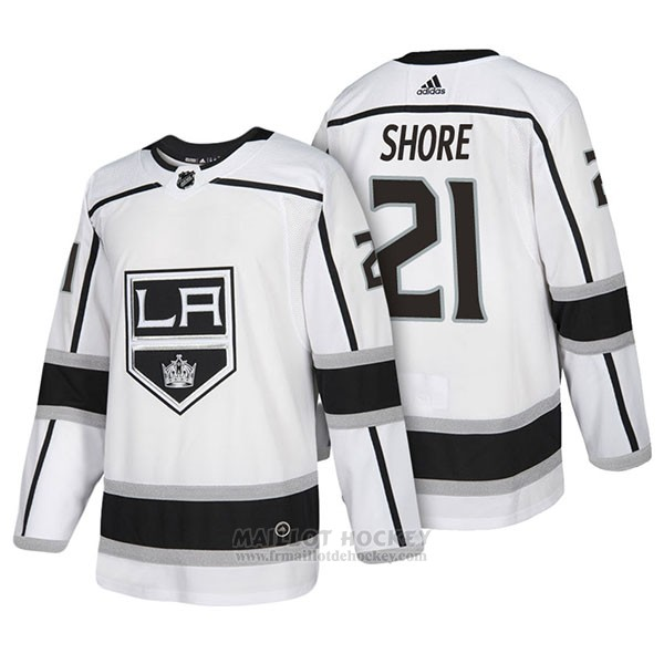 Maillot Authentique Los Angeles Kings 21 Nick Shore Away 2018 Blanc