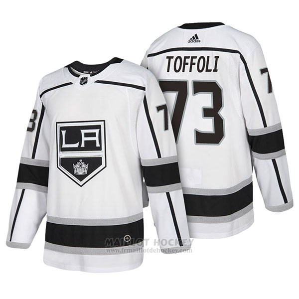 Maillot Authentique Los Angeles Kings 73 Tyler Toffoli Away 2018 Blanc