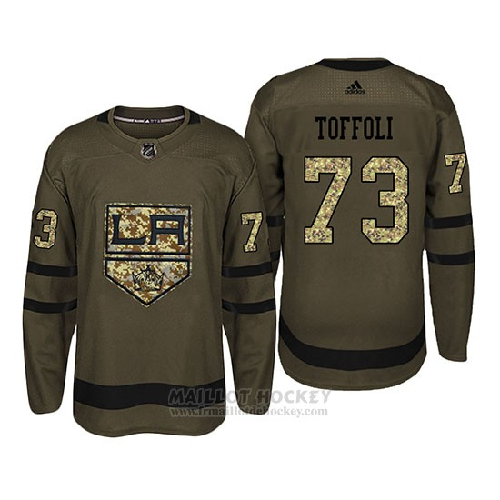 Maillot Los Angeles Kings 73 Tyler Toffoli Camo Salute To Service