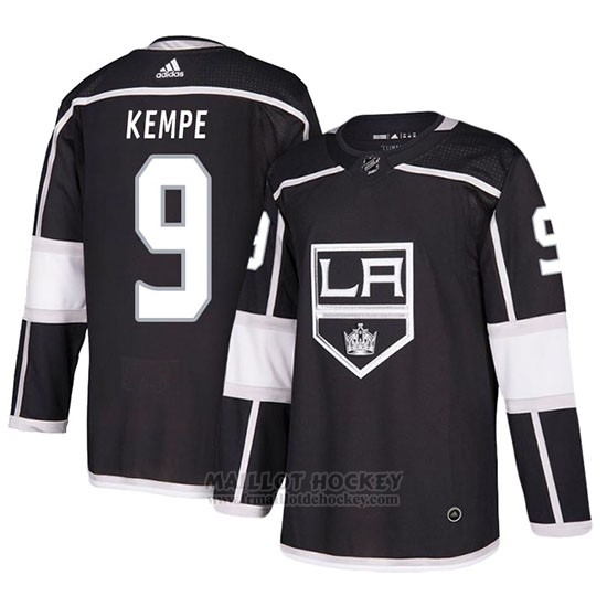 Maillot Los Angeles Kings Adrian Kempe Domicile Noir