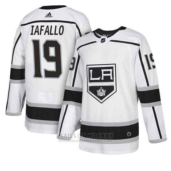 Maillot Los Angeles Kings Alex Iafallo Exterieur Blanc