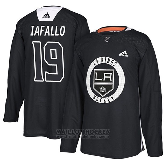 Maillot Los Angeles Kings Alex Iafallo Practice Noir