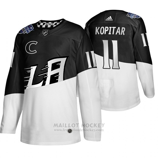 Maillot Los Angeles Kings Anze Kopitar 2020 Stadium Series Blanc Noir