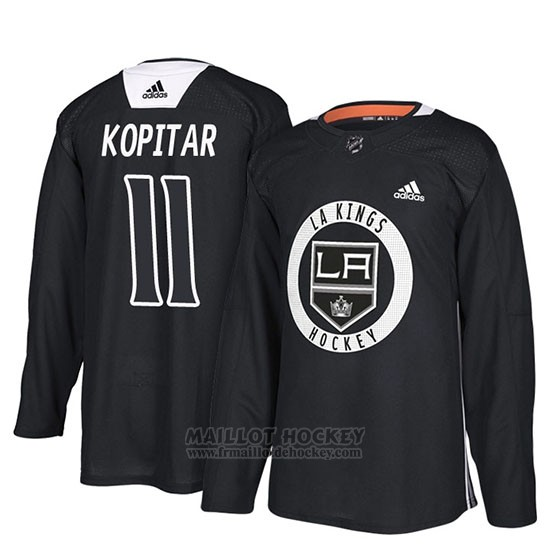 Maillot Los Angeles Kings Anze Kopitar New Season Practice Noir