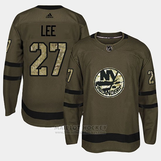 Maillot New York Islanders Anders Lee Camo Salute To Service