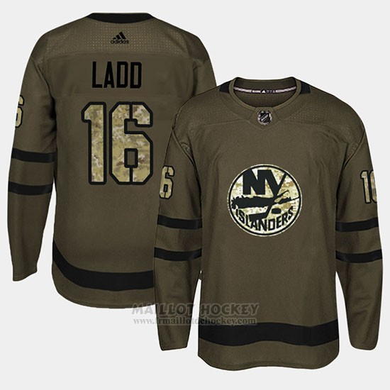 Maillot New York Islanders Andrew Ladd Camo Salute To Service