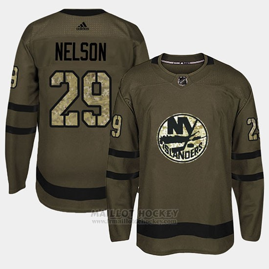Maillot New York Islanders Brock Nelson Camo Salute To Service