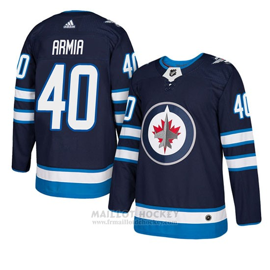 Maillot Winnipeg Jets Joel Armia Authentique Domicile Bleu