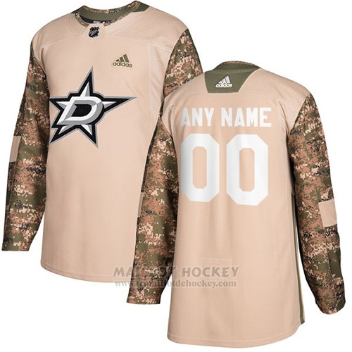 Maillot Dallas Stars Camo Authentique 2017 Veterans Day Stitched Personnalise