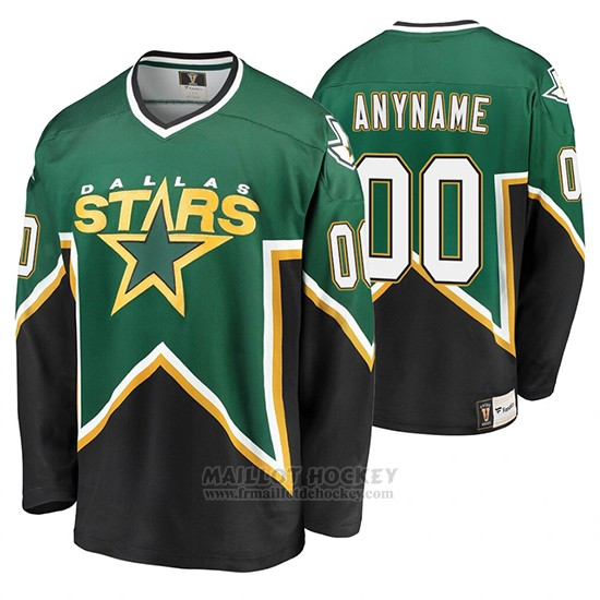 Maillot Dallas Stars Premier Personnalise Heritage Vert