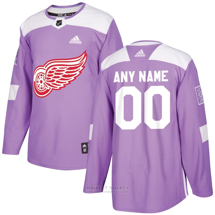 Maillot Detroit Red Wings Personnalise Volet