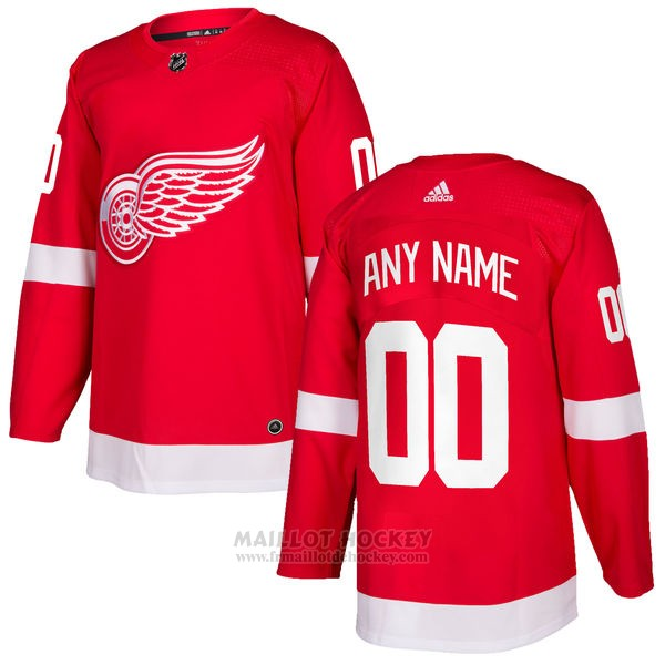 Maillot Detroit Red Wings Primera Personnalise Rouge