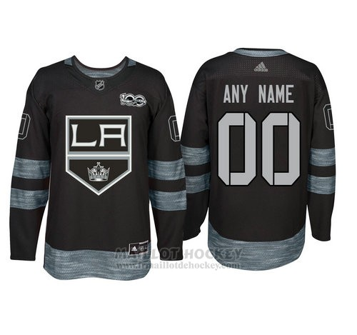 Maillot Los Angeles Kings Personnalise Noir